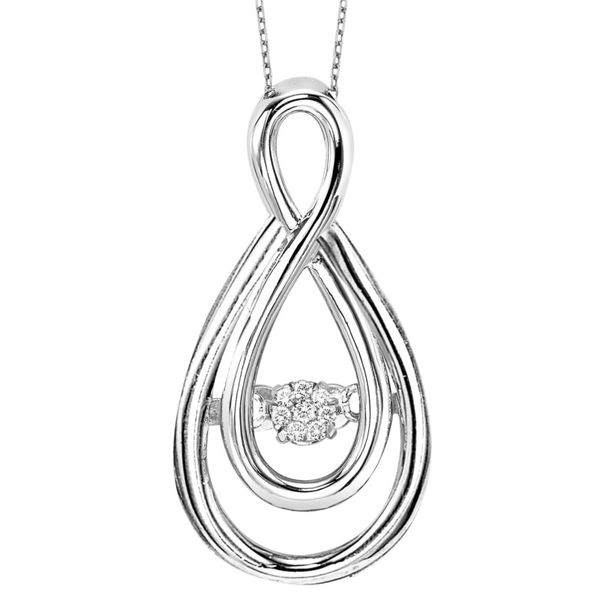 Intertwining Diamond Pendant J. Thomas Jewelers Rochester Hills, MI
