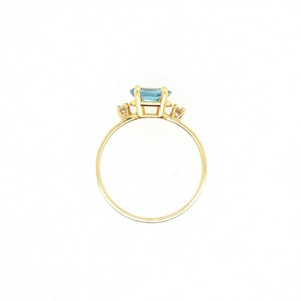 Blue Topaz Ring Image 3 J. Thomas Jewelers Rochester Hills, MI