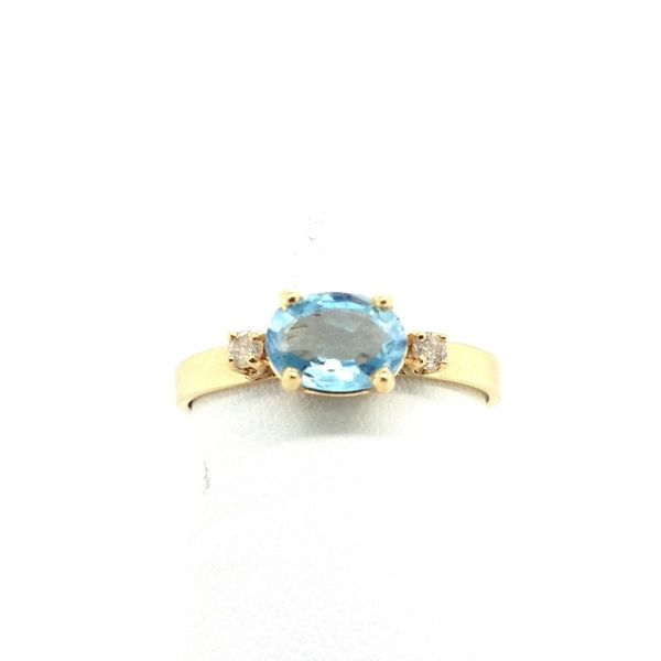Blue Topaz Ring J. Thomas Jewelers Rochester Hills, MI