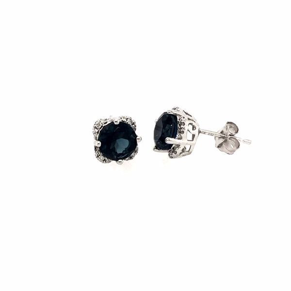London Blue Topaz Earrings J. Thomas Jewelers Rochester Hills, MI