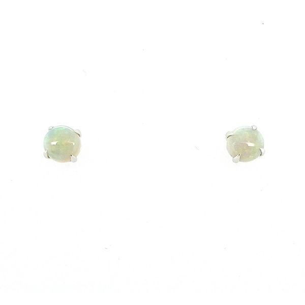 0.76Tw Cabachon Opal Earrings J. Thomas Jewelers Rochester Hills, MI