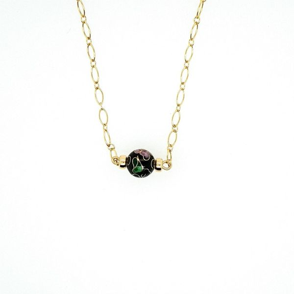 Cloisonne Bead Necklace J. Thomas Jewelers Rochester Hills, MI