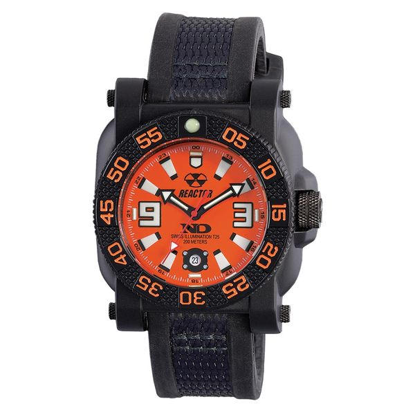 GRYPHON: Orange Dial Reactor Watch J. Thomas Jewelers Rochester Hills, MI