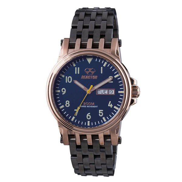 Reactor Neutrino Navy Dial Watch J. Thomas Jewelers Rochester Hills, MI