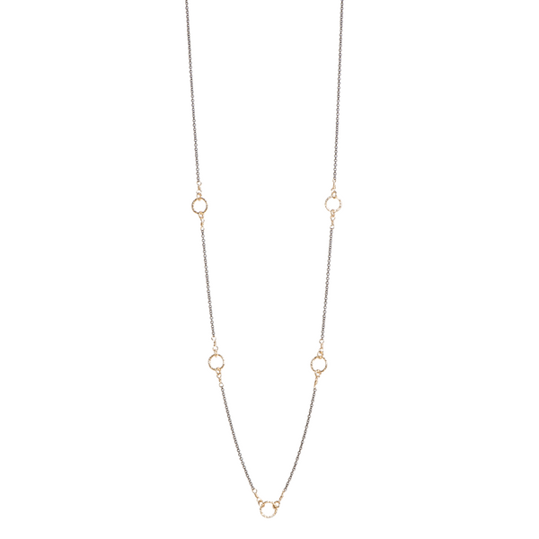 Yellow Gold Filled Zoe Necklace J. Thomas Jewelers Rochester Hills, MI