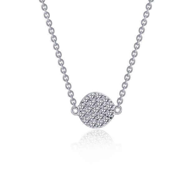 Sterliing Silver Diamond Dot Necklace J. Thomas Jewelers Rochester Hills, MI