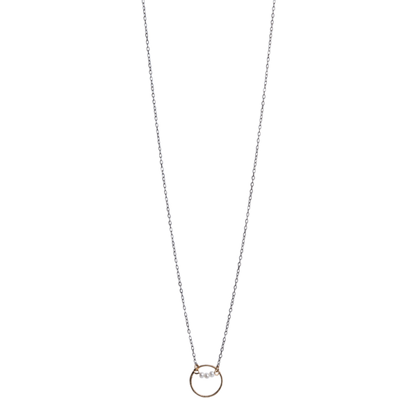 Madison Collection Textured Necklace J. Thomas Jewelers Rochester Hills, MI