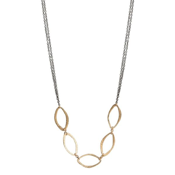 Morgan Collection Yellow Gold Filled Necklace J. Thomas Jewelers Rochester Hills, MI