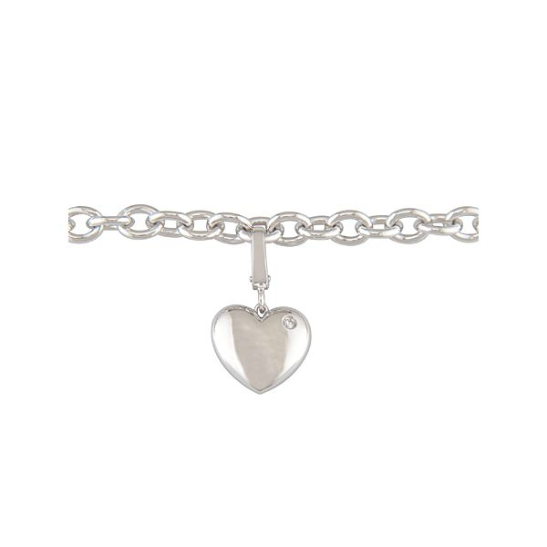 Diamond Heart Bracelet J. Thomas Jewelers Rochester Hills, MI