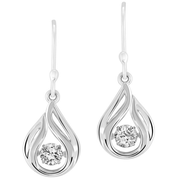 Silver French Hook Earrings J. Thomas Jewelers Rochester Hills, MI