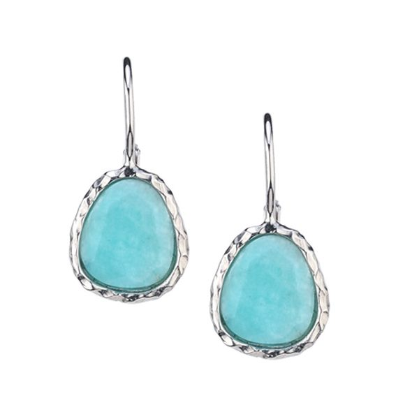 Frederic Duclos Amazonite Earrings J. Thomas Jewelers Rochester Hills, MI