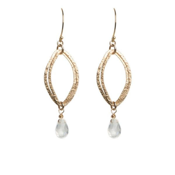 Moonstone Dangle Earrings J. Thomas Jewelers Rochester Hills, MI