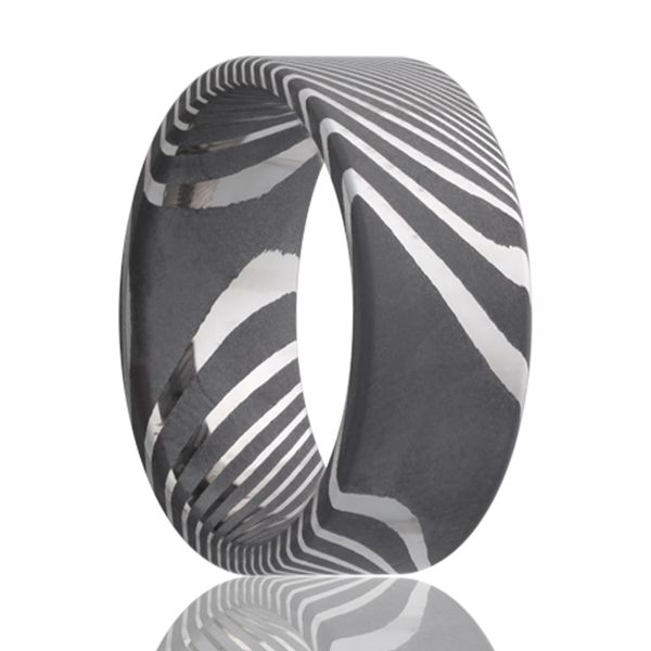 Damascus Steel Ring J. Thomas Jewelers Rochester Hills, MI