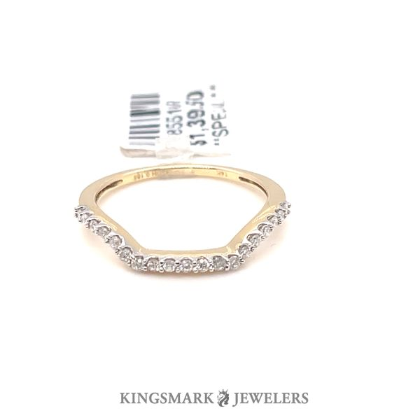 14K Yellow Gold 0.19ct Diamond Band Kingsmark Jewelers Jacksonville, FL