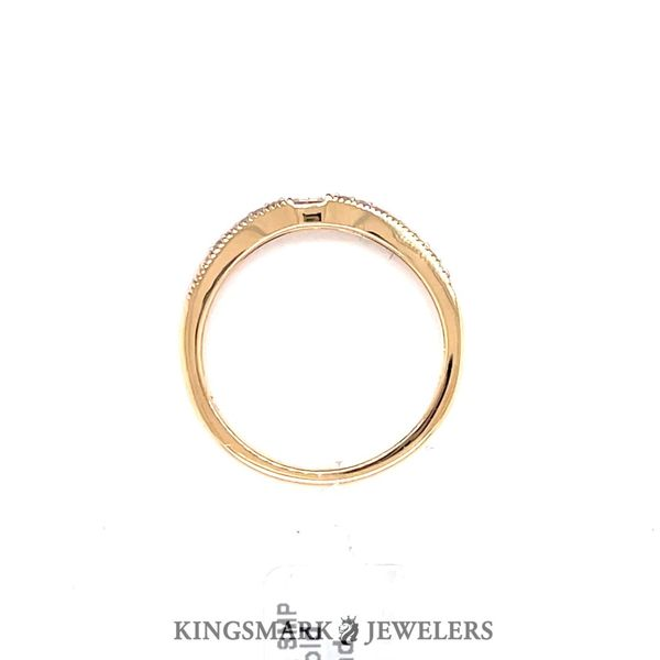 14KT Yellow Gold 0.25CT Diamond Wedding Band Image 2 Kingsmark Jewelers Jacksonville, FL