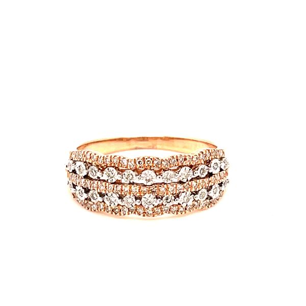 10K Rose Gold 0.25ct Diamond Ladies Band Si1, G Kingsmark Jewelers Jacksonville, FL