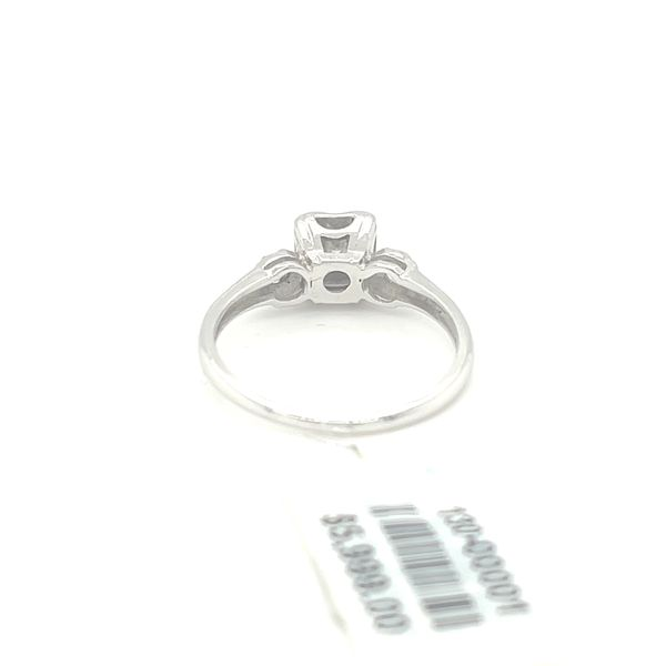 14K W.Gold 0.35ct Diamond Ring CTR 0.25ct Si1,G Image 4 Kingsmark Jewelers Jacksonville, FL