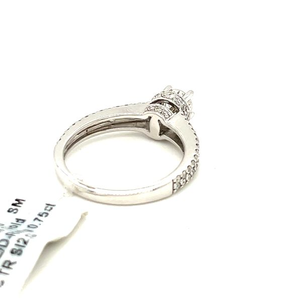 14K White Gold 1.00ct Diamond Ring 0.75ct CTR SI2,G Image 5 Kingsmark Jewelers Jacksonville, FL