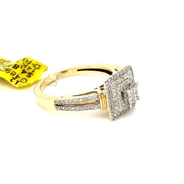 14K Yellow Gold 0.52ct Diamond Ring Si2,  G Image 5 Kingsmark Jewelers Jacksonville, FL