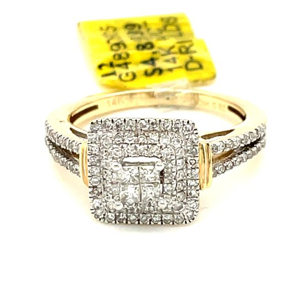 14K Yellow Gold 0.52ct Diamond Ring Si2,  G Kingsmark Jewelers Jacksonville, FL