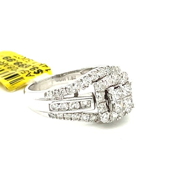 14K White Gold 1.52ct Diamond Ring Si1, G Image 2 Kingsmark Jewelers Jacksonville, FL