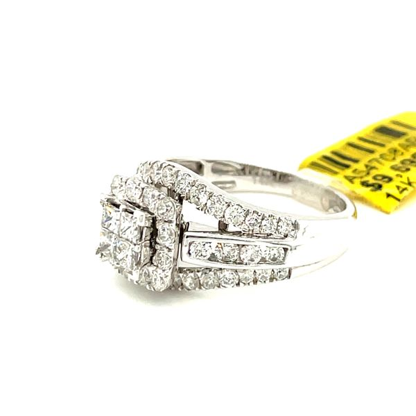 14K White Gold 1.52ct Diamond Ring Si1, G Image 3 Kingsmark Jewelers Jacksonville, FL