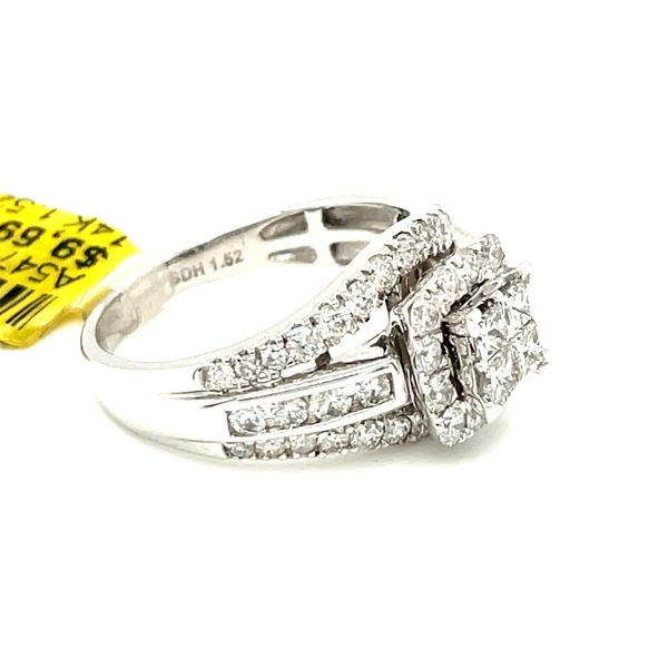 14K White Gold 1.52ct Diamond Ring Si1, G Image 5 Kingsmark Jewelers Jacksonville, FL