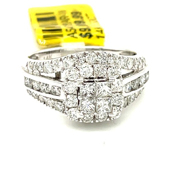 14K White Gold 1.52ct Diamond Ring Si1, G Kingsmark Jewelers Jacksonville, FL