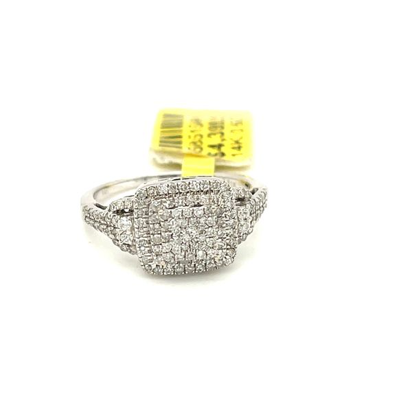 14K White Gold 0.62Ct Diamond Ring Si2, G Kingsmark Jewelers Jacksonville, FL