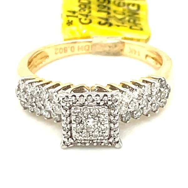 14K Yellow Gold 0.60ct Diamond Ring Kingsmark Jewelers Jacksonville, FL