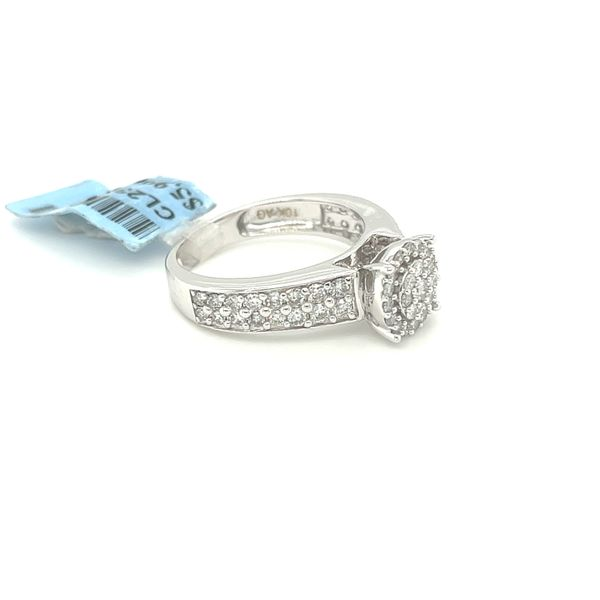 10K White Gold 1.00ct Diamond Ring Si1, G Image 2 Kingsmark Jewelers Jacksonville, FL