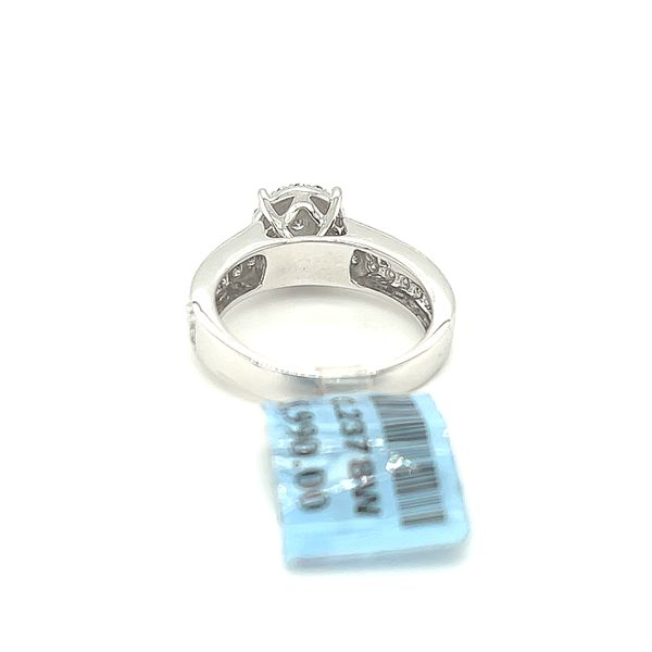 10K White Gold 1.00ct Diamond Ring Si1, G Image 4 Kingsmark Jewelers Jacksonville, FL