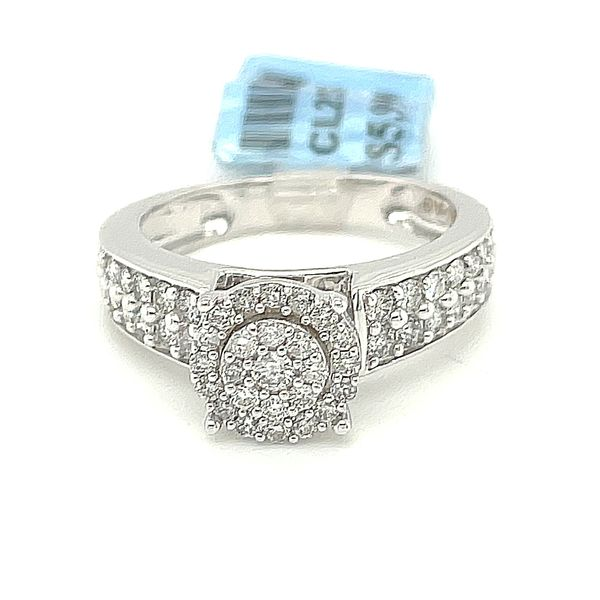 10K White Gold 1.00ct Diamond Ring Si1, G Kingsmark Jewelers Jacksonville, FL