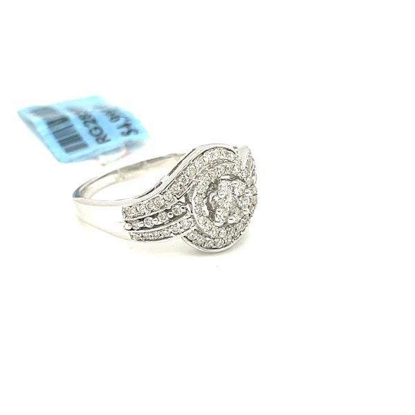 10K White Gold 0.50ct Diamond Ring Si1, G Image 2 Kingsmark Jewelers Jacksonville, FL