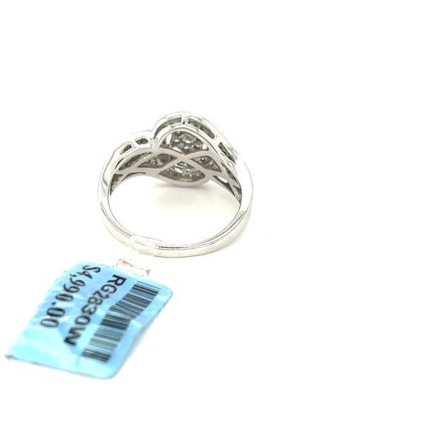 10K White Gold 0.50ct Diamond Ring Si1, G Image 4 Kingsmark Jewelers Jacksonville, FL