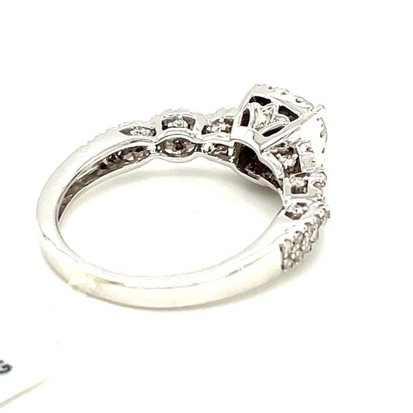 14K White Gold 1.00ct Diamond Ring CTR 0.50ct SI2, G Image 5 Kingsmark Jewelers Jacksonville, FL