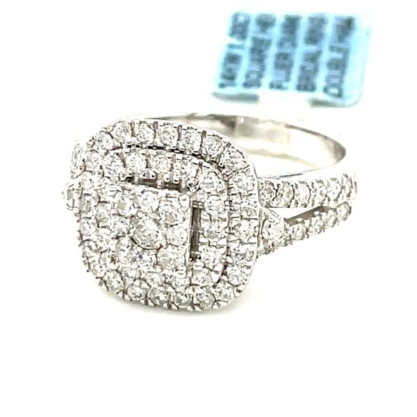 14K White Gold 1.0ct Diamond Ladies Ring Si G Image 2 Kingsmark Jewelers Jacksonville, FL