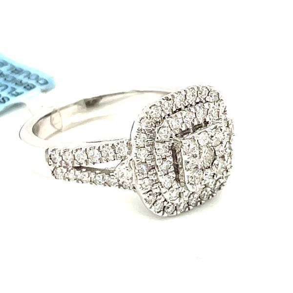 14K White Gold 1.0ct Diamond Ladies Ring Si G Image 3 Kingsmark Jewelers Jacksonville, FL
