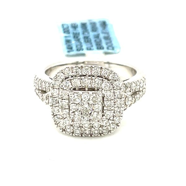14K White Gold 1.0ct Diamond Ladies Ring Si G Kingsmark Jewelers Jacksonville, FL
