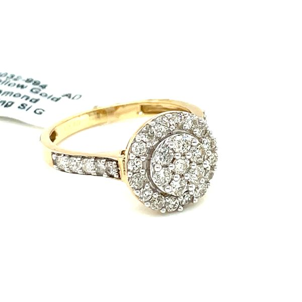 10K Yellow Gold 1.00ct Diamond Ladies Ring Si G Image 2 Kingsmark Jewelers Jacksonville, FL