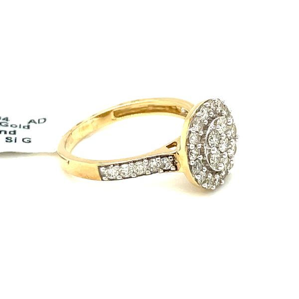 10K Yellow Gold 1.00ct Diamond Ladies Ring Si G Image 3 Kingsmark Jewelers Jacksonville, FL