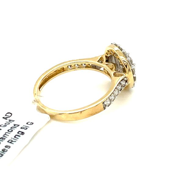 10K Yellow Gold 1.00ct Diamond Ladies Ring Si G Image 4 Kingsmark Jewelers Jacksonville, FL