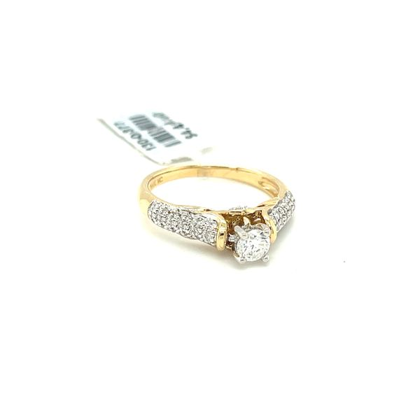 14KY Gold 0.50ct Diamond Ladies Ring, 0.25ct CTR, I1, H Image 2 Kingsmark Jewelers Jacksonville, FL
