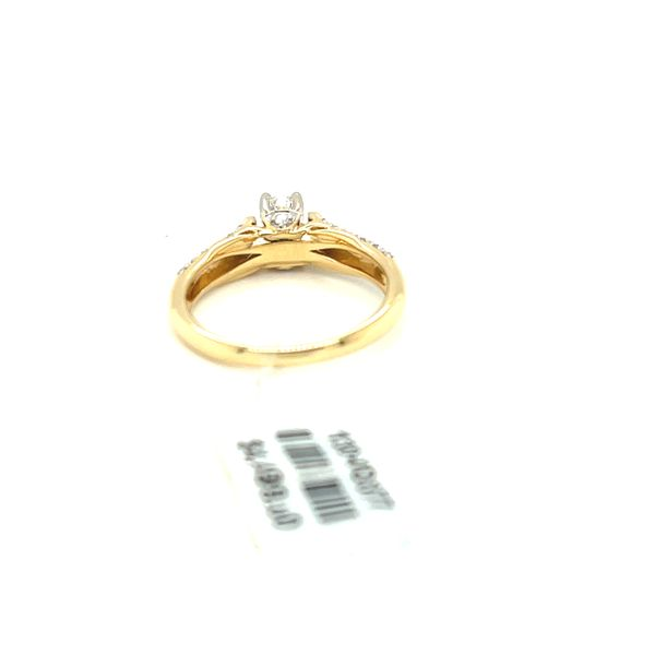 14KY Gold 0.50ct Diamond Ladies Ring, 0.25ct CTR, I1, H Image 5 Kingsmark Jewelers Jacksonville, FL