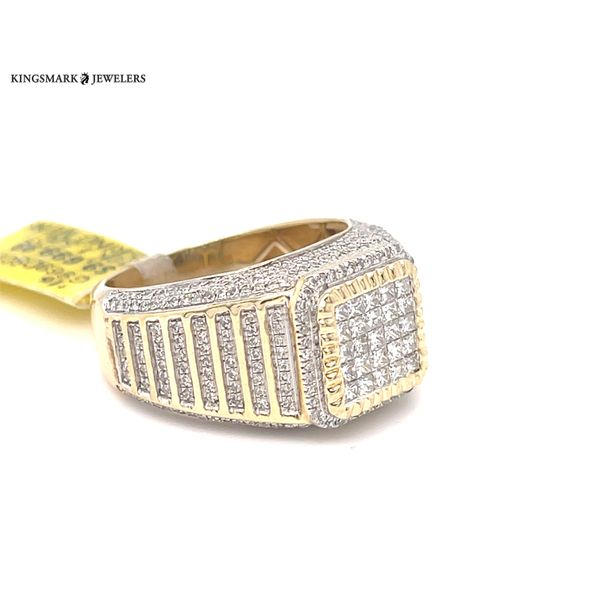 10K Yellow Gold 1.25ct Diamond -Mens Ring Si GS Image 2 Kingsmark Jewelers Jacksonville, FL