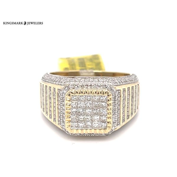 10K Yellow Gold 1.25ct Diamond -Mens Ring Si GS Kingsmark Jewelers Jacksonville, FL