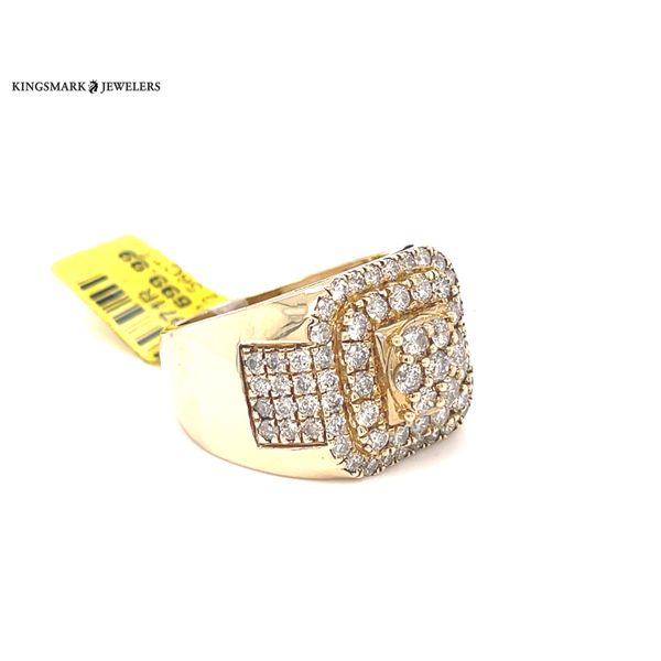 10K Yellow Gold 2.56ct Diamond -Mens Ring Si G Image 2 Kingsmark Jewelers Jacksonville, FL