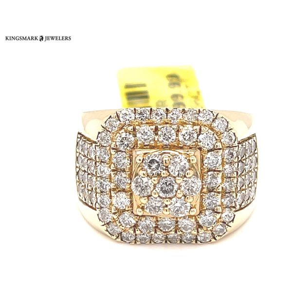 10K Yellow Gold 2.56ct Diamond -Mens Ring Si G Kingsmark Jewelers Jacksonville, FL