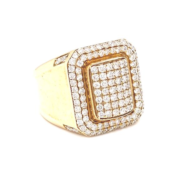 10K Yellow Gold 2.05ct Diamond -Mens Ring Si G Kingsmark Jewelers Jacksonville, FL