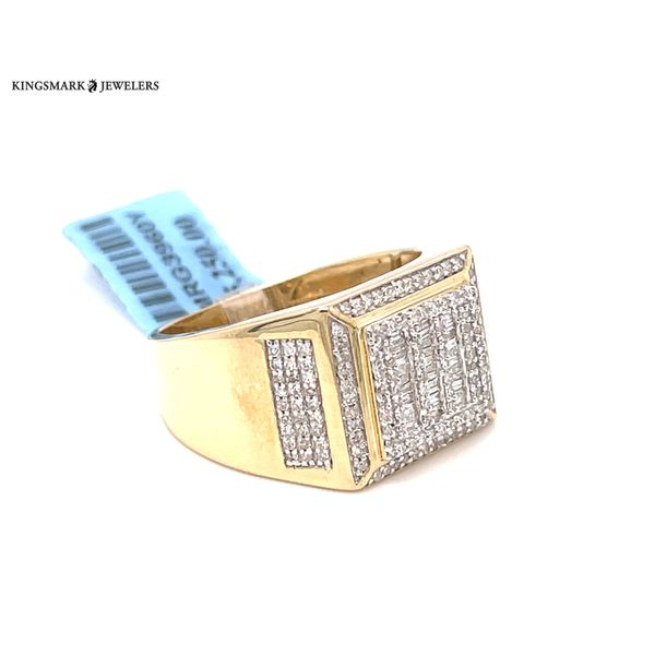 10K Yellow Gold 0.65ct Diamond Men's Ring Kingsmark Jewelers Jacksonville, FL